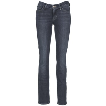 Textiel Dames Straight jeans Levi's 714 STRAIGHT Blauw