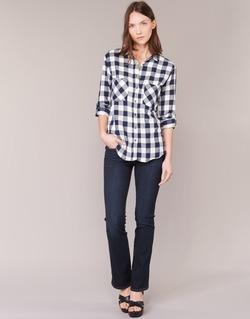 Textiel Dames Bootcut jeans Levi's 715 BOOTCUT Blauw