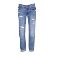 Textiel Dames Boyfriend jeans Levi's 501 CT Star
