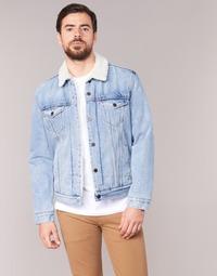Textiel Heren Spijker jassen Levi's TYPE 3 SHERPA TRUCKER Cusack / Trucker