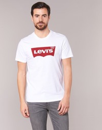 Textiel Heren T-shirts korte mouwen Levi's GRAPHIC SET-IN Wit