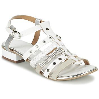 Schoenen Dames Sandalen / Open schoenen Café Noir CAFOUT Wit / Zilver