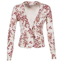 Textiel Dames Jasjes / Blazers Les P'tites Bombes OSIDOULE Wit / Rood