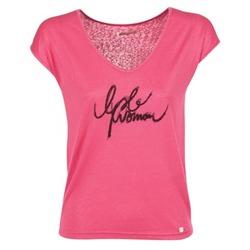 Textiel Dames T-shirts korte mouwen LPB Woman CHOUBERNE Roze