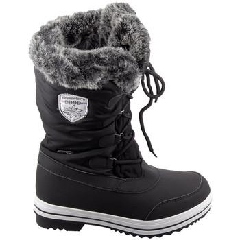 Schoenen Dames Laarzen Elementerre Pooley Noir Zwart