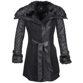 Textiel Dames Mantel jassen Morgan GEFROU Zwart