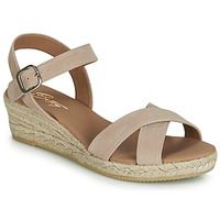 Schoenen Dames Sandalen / Open schoenen Betty London GIORGIA Taupe