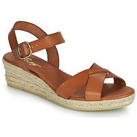 Schoenen Dames Sandalen / Open schoenen Betty London GIORGIA Camel