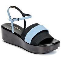 Schoenen Dames Sandalen / Open schoenen Robert Clergerie PODDY Zwart / Blauw