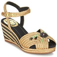 Schoenen Dames Sandalen / Open schoenen Miss L'Fire RENEE Goud