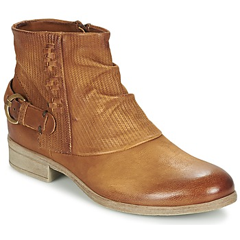Schoenen Dames Laarzen Dream in Green GISCOTTO Bruin / Camel