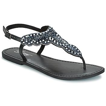 Schoenen Dames Sandalen / Open schoenen Betty London GRESA Zwart