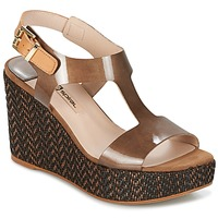 Schoenen Dames Sandalen / Open schoenen Spiral PAULA Bruin
