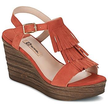 Schoenen Dames Sandalen / Open schoenen Spiral CARLA OranJe