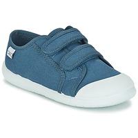 Schoenen Kinderen Lage sneakers Citrouille et Compagnie GLASSIA Blauw