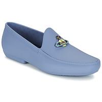 Schoenen Heren Mocassins Vivienne Westwood ENAMELLED ORB MOC Blauw