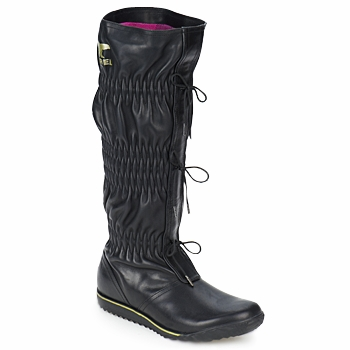 Schoenen Dames Hoge laarzen Sorel FIRENZY Zwart