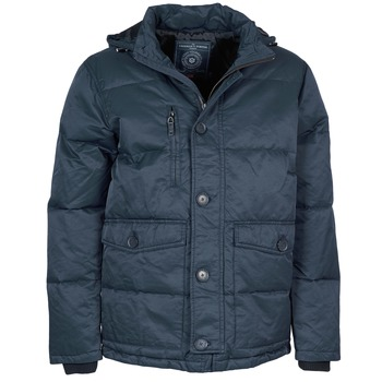Textiel Heren Parka jassen Freeman T.Porter MELLOW COTTON WAX Marine