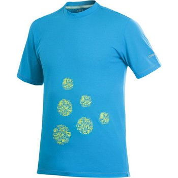 Textiel Heren T-shirts korte mouwen Craft Active Logo Run Tee Blauw