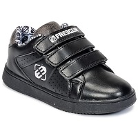 Schoenen Kinderen Lage sneakers Freegun FG ULSPORT Zwart / Wit