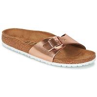 Schoenen Dames Leren slippers Birkenstock MADRID Brons