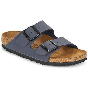 Schoenen Jongens Leren slippers Birkenstock ARIZONA Marine
