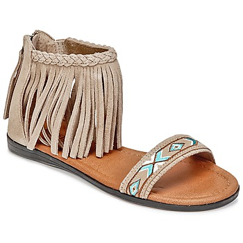 Schoenen Dames Sandalen / Open schoenen Minnetonka MOROCCO Taupe