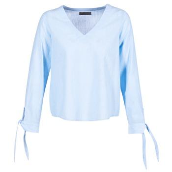 Textiel Dames Tops / Blousjes Vero Moda ELVA Blauw