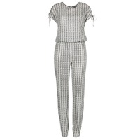 Textiel Dames Jumpsuites / Tuinbroeken Vero Moda NOW Wit / Zwart