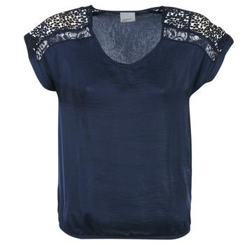Textiel Dames Tops / Blousjes Vero Moda SATINI Marine