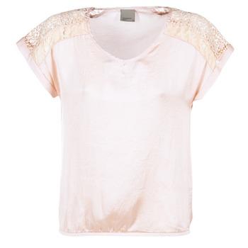 Textiel Dames Tops / Blousjes Vero Moda SATINI Roze