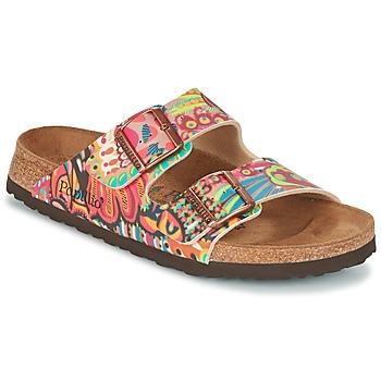 Schoenen Dames Leren slippers Papillio ARIZONA Multi