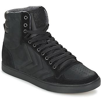 Schoenen Hoge sneakers Hummel TEN STAR MONO OILED IG Zwart / Zwart