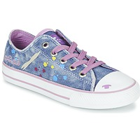 Schoenen Meisjes Lage sneakers Tom Tailor JIJAA Blauw / Violet