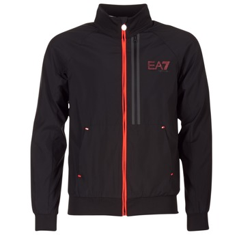 Textiel Heren Wind jackets Emporio Armani EA7 TRAIN EVOLUTION Zwart