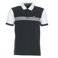 Textiel Heren Polo's korte mouwen Emporio Armani EA7 TENNIS CLASSIC Marine / Wit