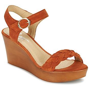 Schoenen Dames Sandalen / Open schoenen Betty London GIMI Roest