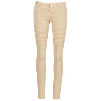 Textiel Dames 5 zakken broeken Noisy May EVE Beige