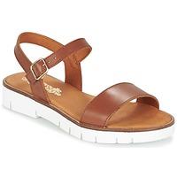 Schoenen Meisjes Sandalen / Open schoenen Citrouille et Compagnie GAPOTI Camel