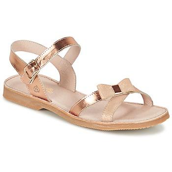 Schoenen Meisjes Sandalen / Open schoenen Citrouille et Compagnie JISCOTTE Brons