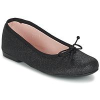 Schoenen Meisjes Ballerina's Citrouille et Compagnie GLIGLO Zwart / Pailletten