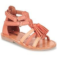 Schoenen Meisjes Sandalen / Open schoenen Citrouille et Compagnie GOFARO  perzik
