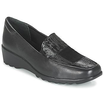 Schoenen Dames Mocassins Romika Carree 17 Zwart