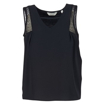 Textiel Dames Mouwloze tops Naf Naf OPIPA Zwart