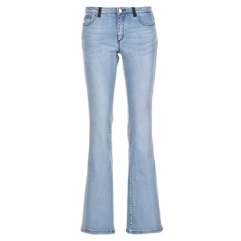Textiel Dames Bootcut jeans Naf Naf GALY Blauw / Clair