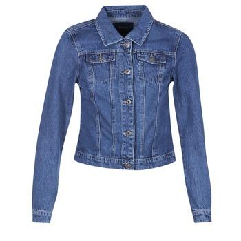 Textiel Dames Spijker jassen Only DARCY Blauw / Medium