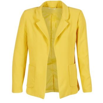 Textiel Dames Jasjes / Blazers Only DUBLIN Geel
