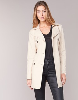 Textiel Dames Trenchcoats Only MARIA LONG Beige