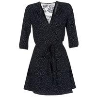 Textiel Dames Korte jurken Only NOVA LACE Zwart