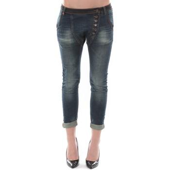 Textiel Dames ¾ jeans & 7/8 jeans Dress Code Jean Remixx Bleu Brut RX862 Blauw